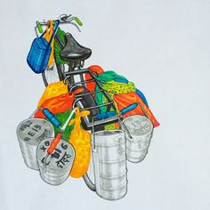 Dabbawala cycle from #theghodacycleproject