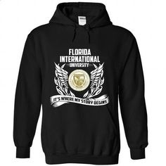 Florida International University - #t shirt designer #dc hoodies. MORE INFO => https://www.sunfrog.com/LifeStyle/Florida-International-University-9708-Black-Hoodie.html?60505