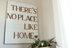 There's no place like home Sign tutorial