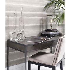 EICHHOLTZ Schreibtisch Paco (schwarz grau) | Schreibtisch