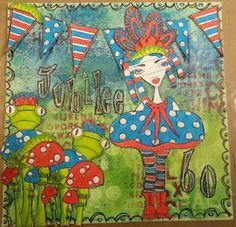 Dylan's Blog- Art Journal color sample