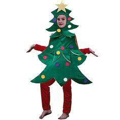 Disfraz de Arbol de Navidad #infantil #navidad #disfraces
