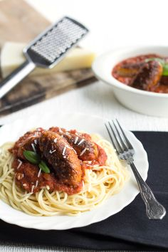 Sriracha Marinara With Meatballs Recipe — Dishmaps
