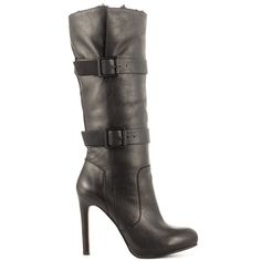 Shoesmith - Black Leather by Aldo