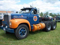 Beefy Gulf Oil Truck