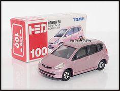 TOMICA #100 HONDA FIT JAZZ 1/59 PINK TOMY DIECAST CAR NEW