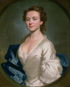 Miss Craigie, 1741 (oil on canvas) Allan Ramsey © The Berger Collection at the Denver Art Museum, USA