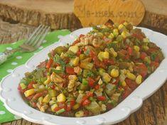 Közlenmiş Kırmızı Biber Salatası Resimli Tarifi - Yemek Tarifleri