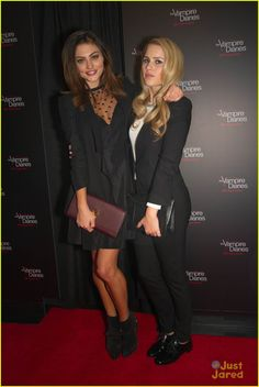 Phoebe Tonkin & Claire Holt: 'The Vampire Diaries' 100th Episode