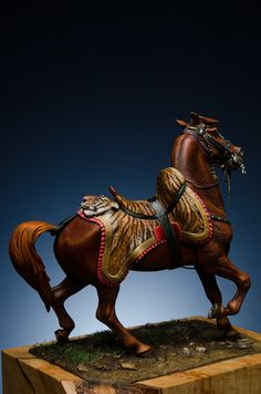 Iron Age, Napoleonic Wars, Hobbies And Crafts, Lion Sculpture, British, Military, Horses, Statue, Models