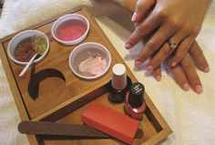 Signature Services: Signature Herbal Spa Manicure - Technique - NAILS Magazine