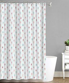 $8.99 marked down from $29.99! Coral Bathing Beauties Shower Curtain #zulilyfinds