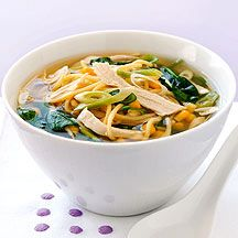 Weight Watchers: Chicken noodle soup