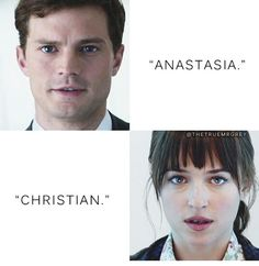 """Anastasia "" / ""Christian"" / Fifty Shades Of Grey / movie / trilogy / Jamie Dornan / Dakota Johnson / 50 Shades / Greysessed / love / Elevator"
