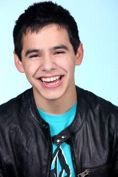David Archuleta, love his sweet smile and smiling eyes..