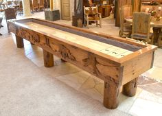 Shuffleboard Table - Lodge Shuffle Board Table - MLST690