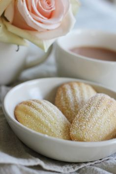 Every baker needs to try this Rosewater and Almond Madeleine.