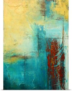 Erin Ashley Poster Print Wall Art Print entitled Distant Limit, None #abstractart