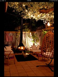 Outdoor living | Vintage Fireplace