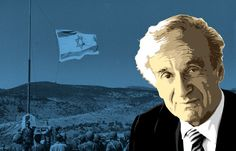"""The author of """"Night,"""" then a columnist at the Forverts, movingly wrote about the unlikely victory by Israel in June Elie Wiesel, Jewish History, Columnist, War, Juni, Writing, Israel, Author, Fictional Characters"""