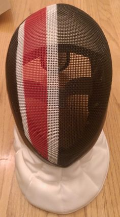 Really pleased with the paint scheme on my fencing mask.