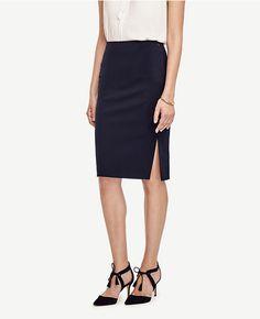 Primary Image of Petite Seasonless Pencil Skirt
