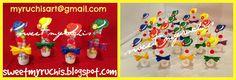 Fiesta Infantil, Fiesta Circo, Ideas Fiesta Circo, Fiesta Payasos, ideas Fiesta Payaso sweetmyruchis.blogspot.com