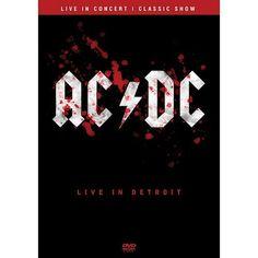 """Live In Detroit trás a banda que há mais de 40 anos arrebata cada vez um número maior de fãs mundo afora. Com uma performance impecável os australianos do AC/DC desfilam seus maiores clássicos na Terra do Tio Sam. Faixas 1. """"Thunderstruck"""" 2. """"Shoot To Thrill"""" 3. """"Back In Black"""" 4. """"Fire Your Guns"""" 5.…"""