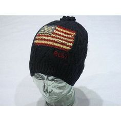 Ralph Lauren knit cap   POLO RALPH LAUREN American Flag Knit Cap(NVY) -ポロラルフロ:polo ...
