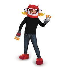 Infernite Zorch Toddler Mixels Lego Cartoon Fancy Dress Halloween Child Costume