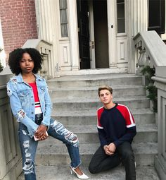 Riele Downs and Jace Norman Jason Norman, Henry Danger Jace Norman, Jace Norman Snapchat, 3 Friends, Future Boyfriend, Cute Summer Outfits, Celebrity Couples, Hot Boys, Celebrity Crush
