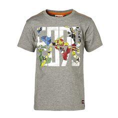 """Ninjago T-Shirt Timmy """"Good Guys"""" kurzarm Shirt    Wenn Ihr Sohn beim Spielen in die Welt von LEGO's Ninjago vertieft ist, gelingt es Ihnen kaum seine Aufmerksamkeit zu gewinnen. Mit diesem Shirt von LEGO® Wear dürfte das ganz leicht fallen, schließlich ziert einer der mutigen Ninja-Kämpfer die Vorderseite dieses weichen Shirts.    LEGO® Wear Jungen T-Shirt mit folgenden Besonderheiten:    - Th..."""
