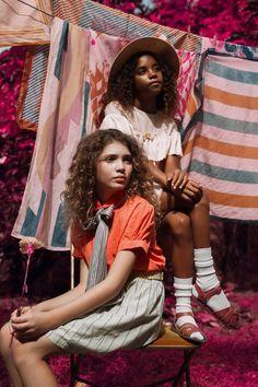 Leslie Schor & Celia D. Luna for BABIEKINS MAGAZINE | Technicolor Dream