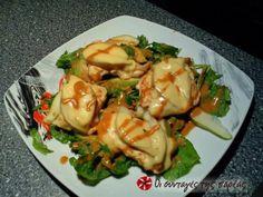 Πράσινη σαλάτα με γαλοπούλα και αχλάδι
