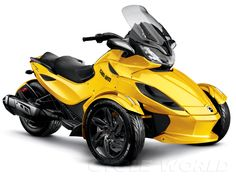 2013 Can-Am Spyder ST-S. been dying to try one of these out!