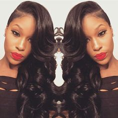 Are you looking for virgin human hair wig? We are doing activities: Buy on Get one,while supplies last, Only American customers Time is High quality,wholesale price. When yo Long Hair Shaved Sides, Shaved Side Hairstyles, Half Shaved Hair, Weave Hairstyles, Wedding Hairstyles, Funky Hairstyles, Zendaya, Curly Hair Styles, Natural Hair Styles