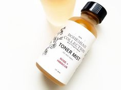 1oz Rose + Hibiscus TONER MIST – All Things O'Natural