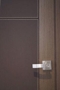 Door leather