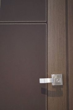 Door leather