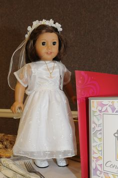 American Girl Doll -  3rd party communion dress we ordered fit and looked perfect.