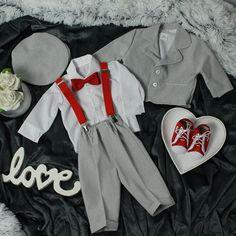 Special Occasion Boys Plain Grey Suit – BabyUniqueCorn