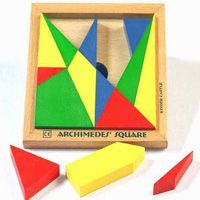 """another geometry toy: """"Archimedes Square Stomachion"""""""