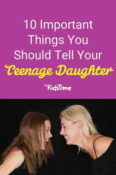10 Important Things You Should Tell Your Teenage Daughter Parenting Teenagers, Parenting Advice, Teenage Daughters, Life Lessons, Parents, Told You So, Teaching, Ideas, Dads