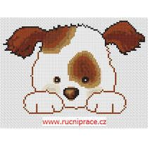 doggie, cross stitch, fre pattern