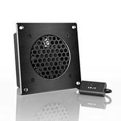 AC Infinity AIRPLATE S1 Best Price.AC Infinity AIRPLATE S1, Quiet Cooling Fan System 4″ with Speed Control, for Home Theater AV Cabinets.