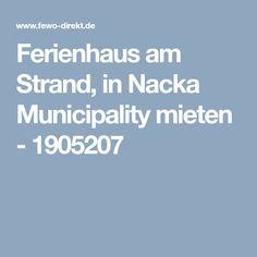 Ferienhaus am Strand, in Nacka Municipality mieten - 1905207