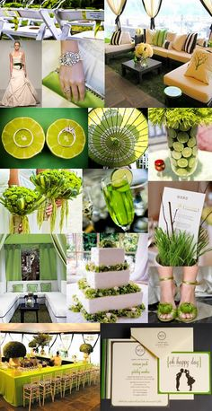 Spring Green Wedding