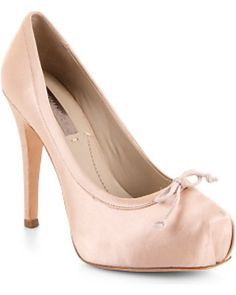 The ballerina pump... okay, these are pretty sweet