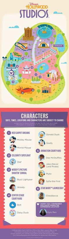 Check out our guide to Character Experiences at Disney's Hollywood Studios®!
