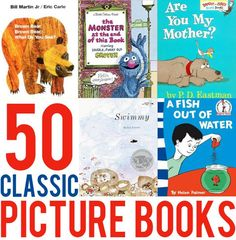 50 Great Picture Book Classics to read aloud with children of all ages